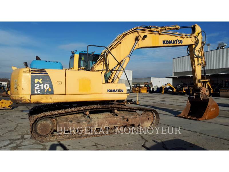 KOMATSU PELLES SUR CHAINES PC210LC6 equipment  photo 3