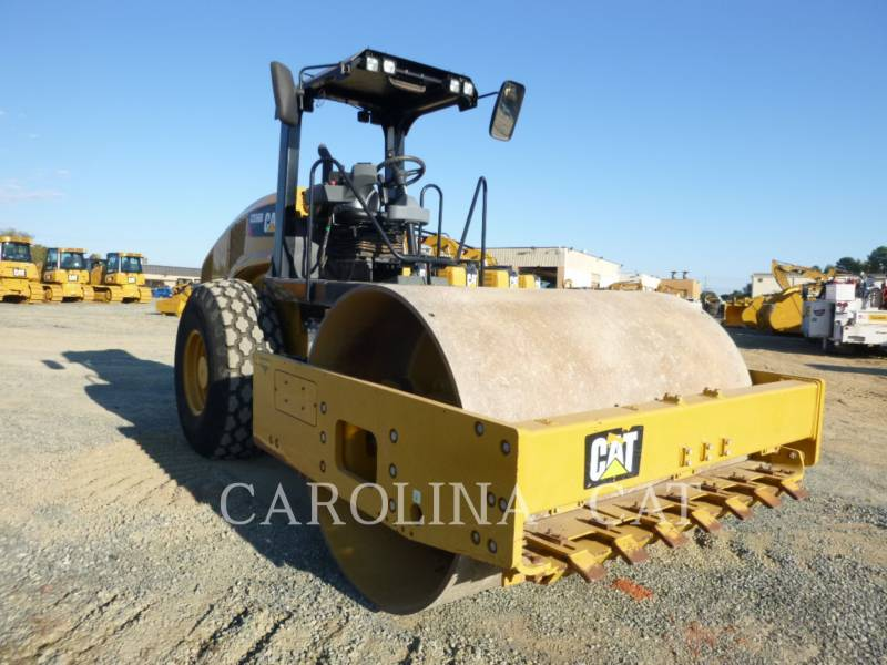CATERPILLAR EINZELVIBRATIONSWALZE, GLATTBANDAGE CS56B equipment  photo 5
