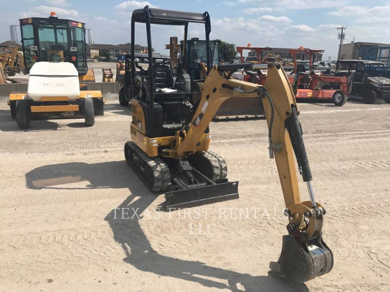 CATERPILLAR TRACK EXCAVATORS 301.7D CR equipment  photo 3