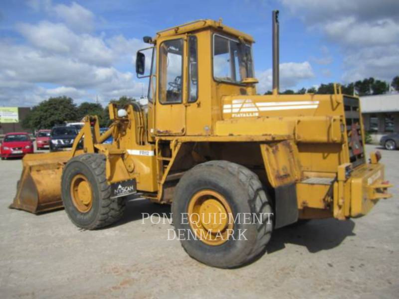 FIAT ALLIS WHEEL LOADERS/INTEGRATED TOOLCARRIERS FR12 equipment  photo 6