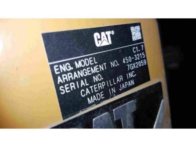 CATERPILLAR ESCAVADEIRAS 303.5E2CR equipment  photo 6