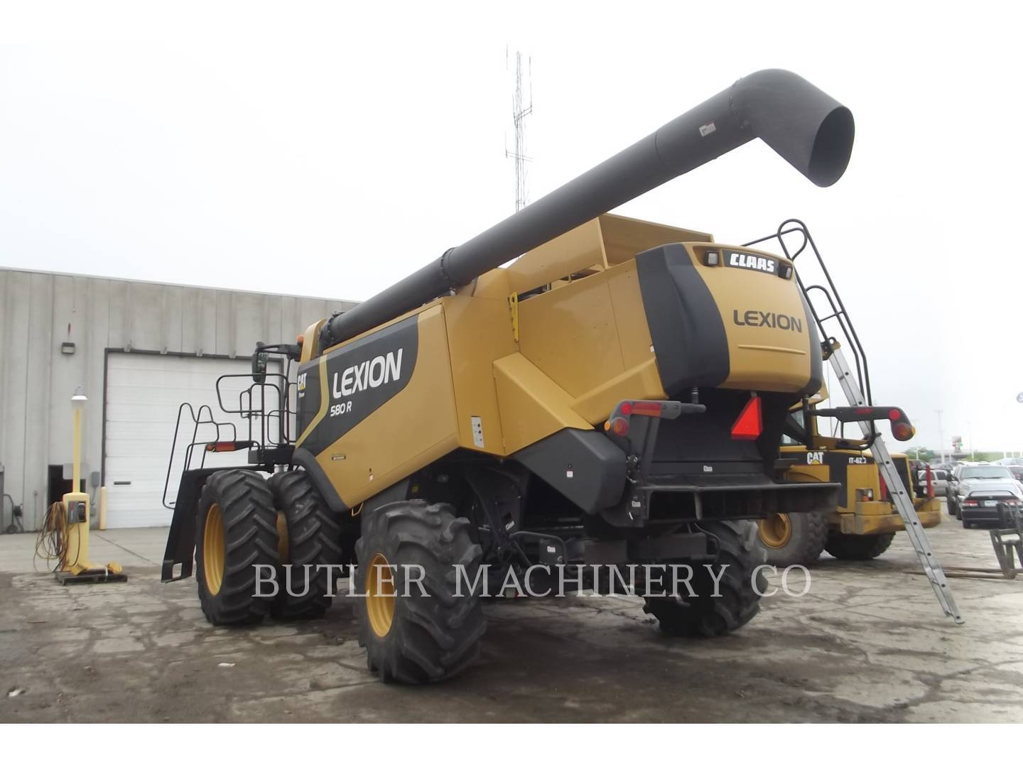 Detail photo of 2009 Lexion LEX 580R from Construction Equipment Guide