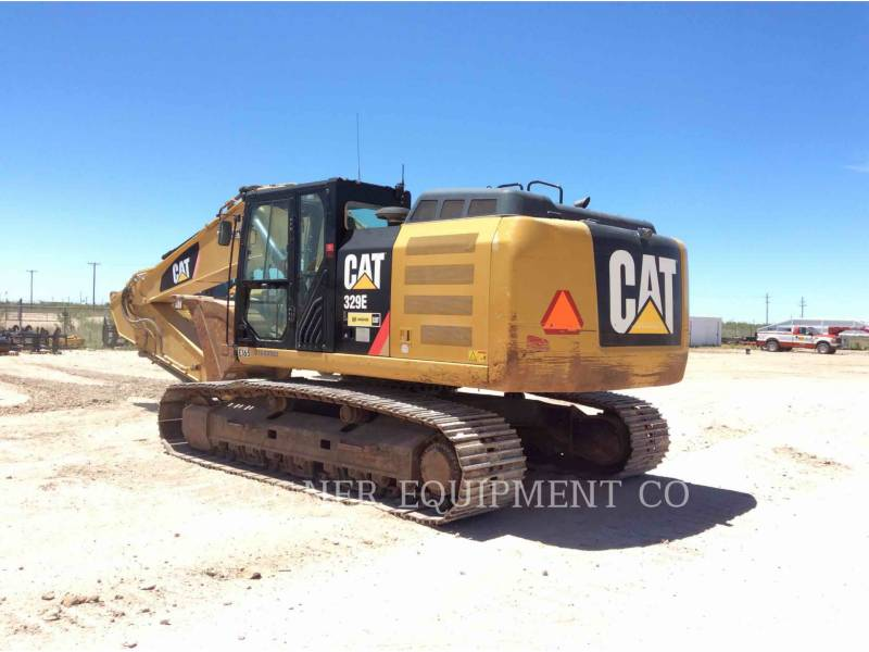 CATERPILLAR TRACK EXCAVATORS 329EL TC equipment  photo 2