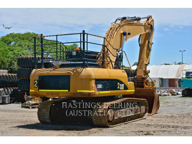 CATERPILLAR TRACK EXCAVATORS 336DL equipment  photo 7