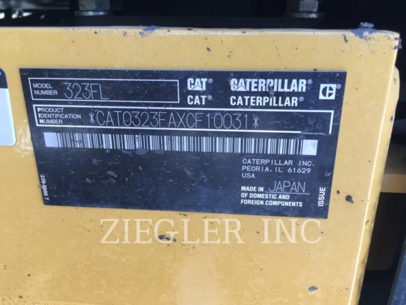 CATERPILLAR KETTEN-HYDRAULIKBAGGER 323FL equipment  photo 7