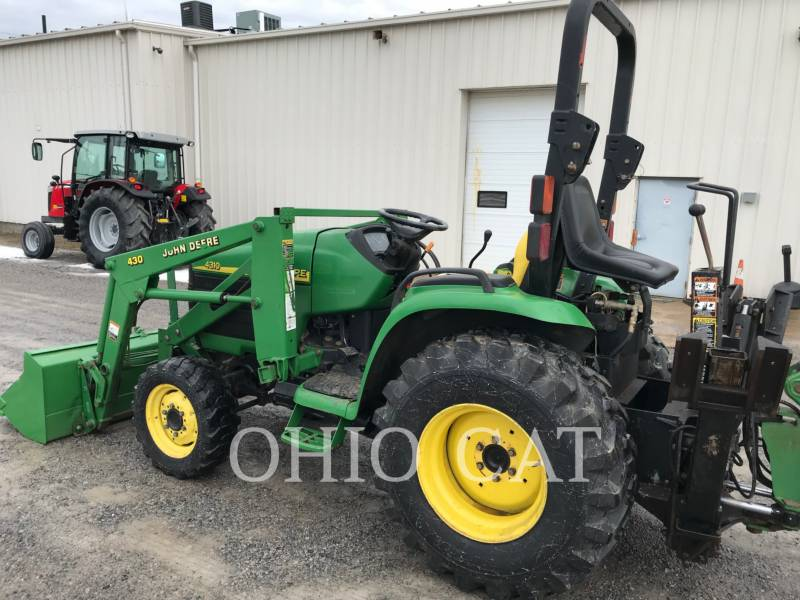 JOHN DEERE TRACTEURS AGRICOLES 4310 equipment  photo 1
