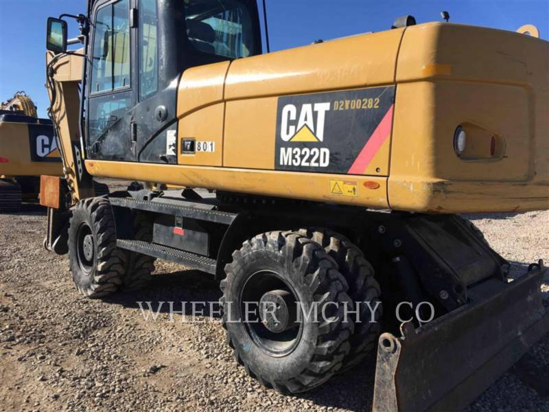 CATERPILLAR トラック油圧ショベル M322D equipment  photo 3