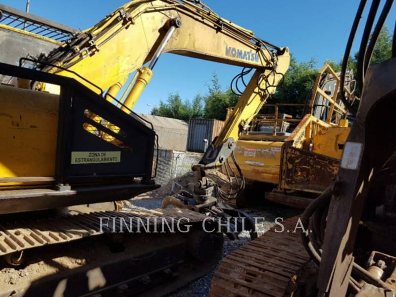 KOMATSU KETTEN-HYDRAULIKBAGGER PC200LC equipment  photo 4
