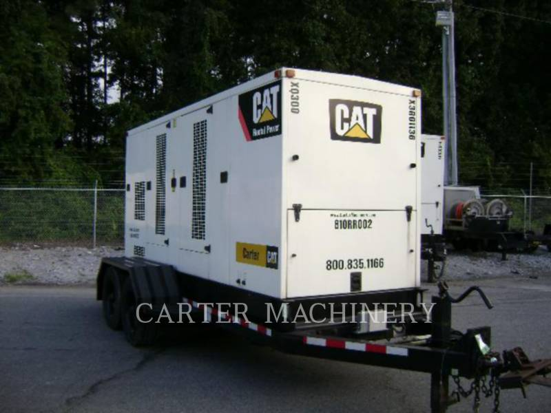 CATERPILLAR PORTABLE GENERATOR SETS XQ300 equipment  photo 4