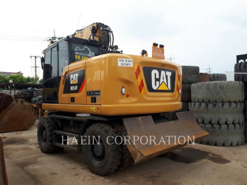 CATERPILLAR WHEEL EXCAVATORS M314F equipment  photo 4