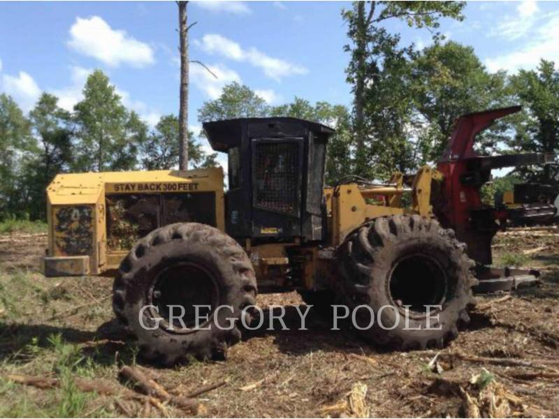 CATERPILLAR FORESTRY - FELLER BUNCHERS - WHEEL 573 equipment  photo 7