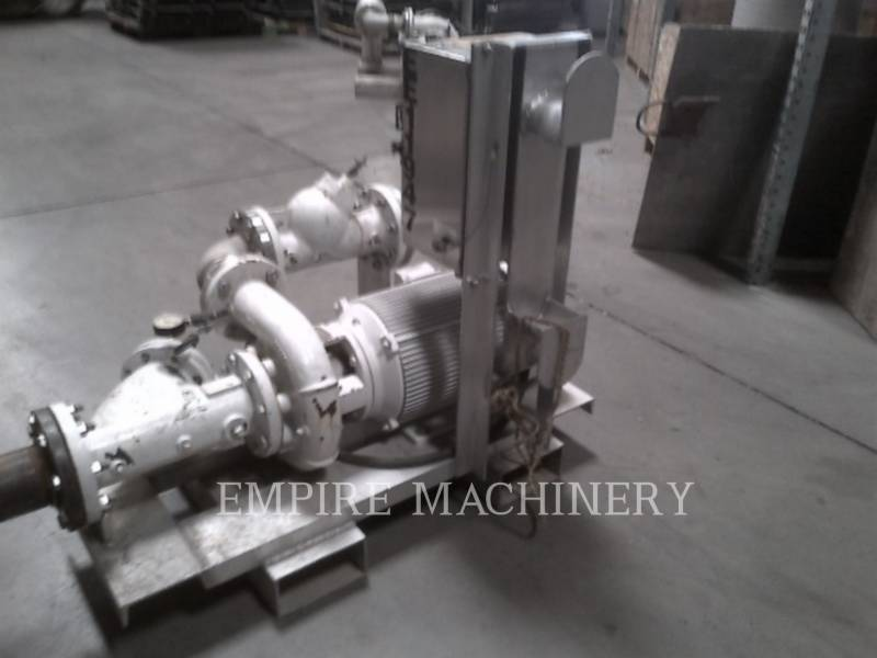 MISC - ENG DIVISION HVAC: ヒータ、換気、およびエアコン (OBS) PUMP 25HP equipment  photo 3