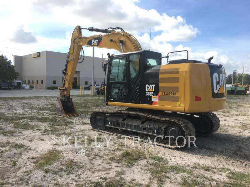 CATERPILLAR ESCAVATORI CINGOLATI 318EL equipment  photo 3