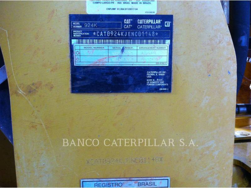 CATERPILLAR CARGADORES DE RUEDAS 924K equipment  photo 20