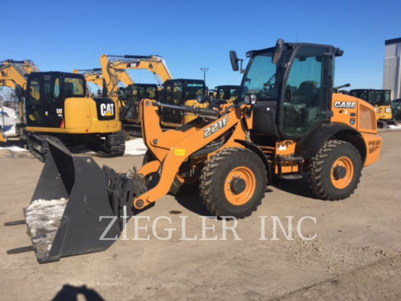 CASE/NEW HOLLAND WHEEL LOADERS/INTEGRATED TOOLCARRIERS 221F equipment  photo 1