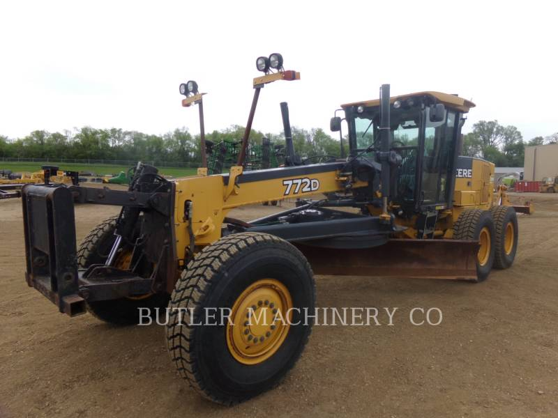 DEERE & CO. MOTOR GRADERS 772D equipment  photo 1