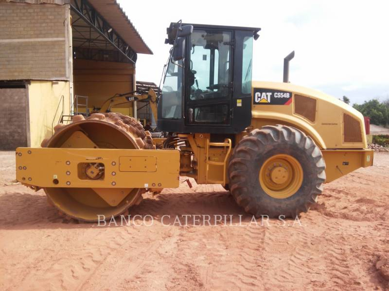 CATERPILLAR COMPACTEUR VIBRANT, MONOCYLINDRE LISSE CS54B equipment  photo 11