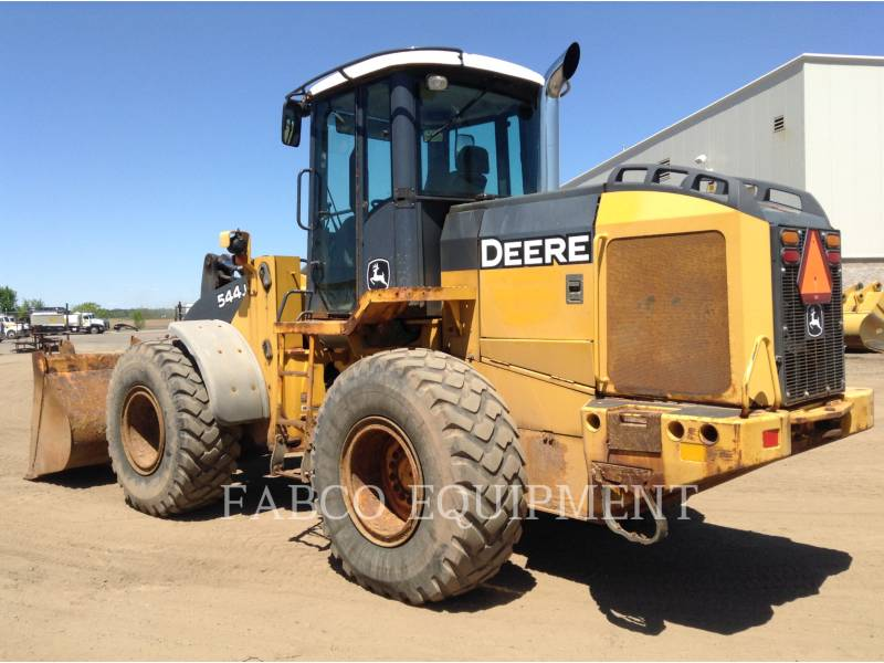 JOHN DEERE TRATORES DE RODAS 544J equipment  photo 4