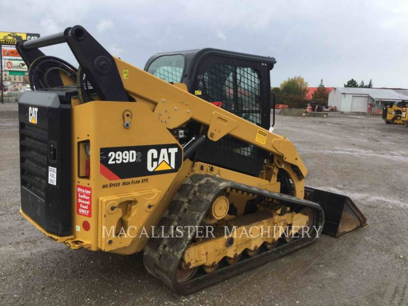 CATERPILLAR CHARGEURS TOUT TERRAIN 299D2 equipment  photo 4