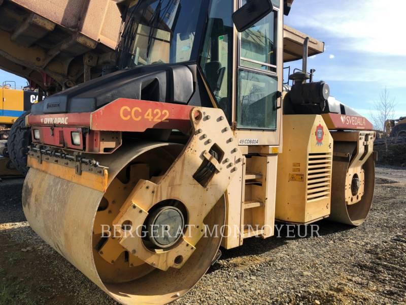 DYNAPAC COMPACTORS CC422 equipment  photo 3