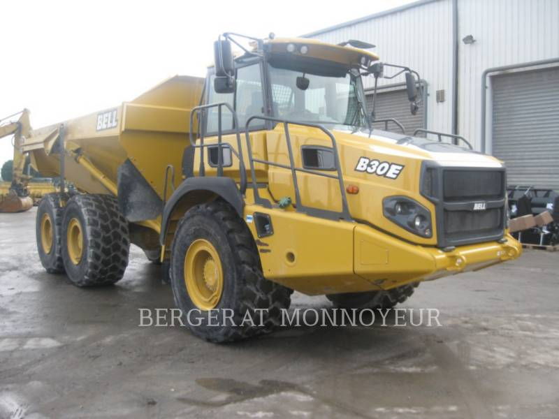 BELL EQUIPMENT NORTH AMERICA, INC. ARTICULATED TRUCKS B30E equipment  photo 3