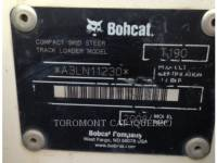BOBCAT CHARGEURS COMPACTS RIGIDES T190 equipment  photo 18
