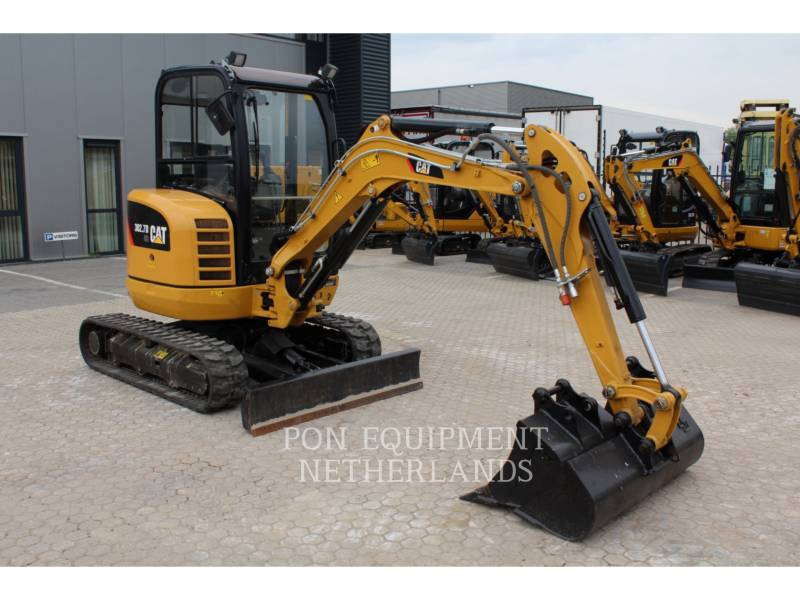 CATERPILLAR PELLES SUR CHAINES 302.7 D CR equipment  photo 4