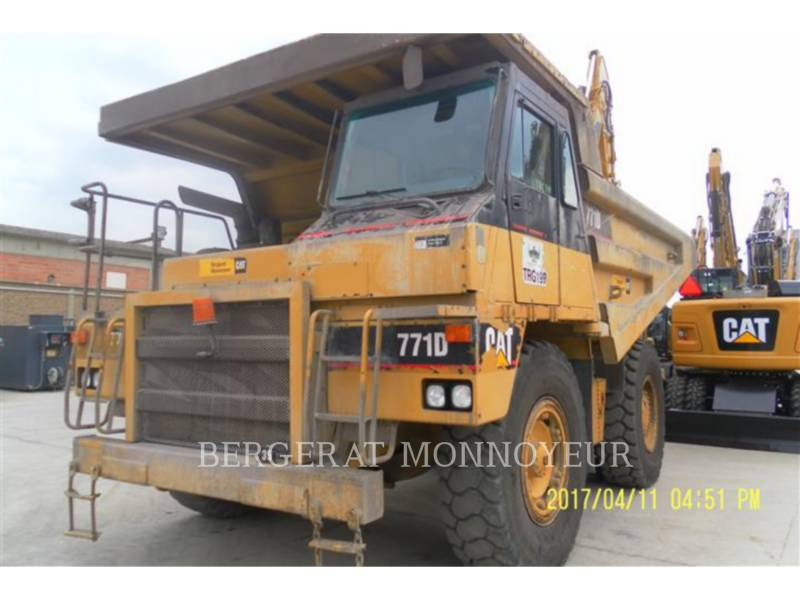 CATERPILLAR MULDENKIPPER 771D equipment  photo 1