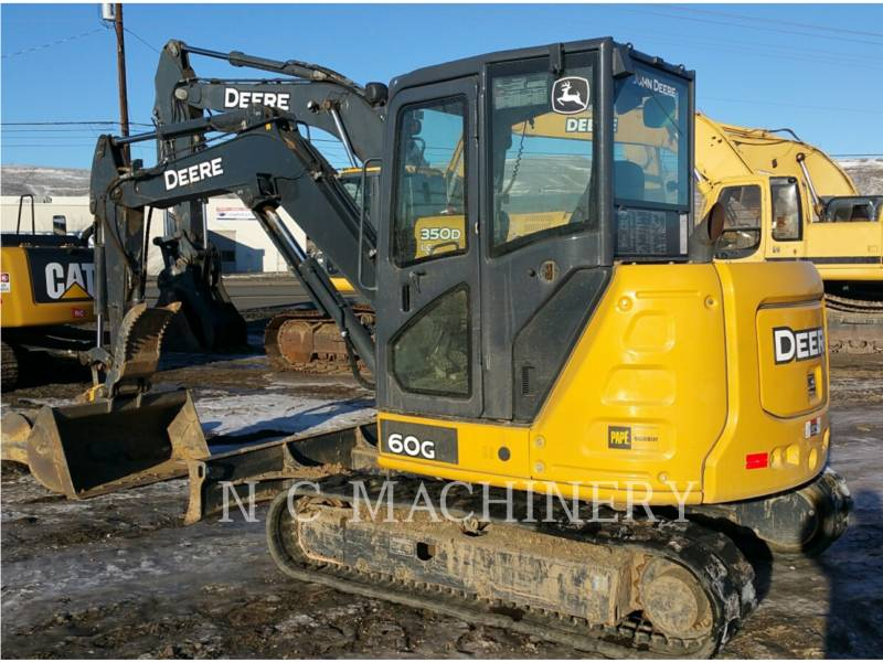 JOHN DEERE TRACK EXCAVATORS 60G equipment  photo 2
