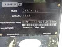 KOMATSU LTD. TRACTEURS SUR CHAINES D65PX equipment  photo 10