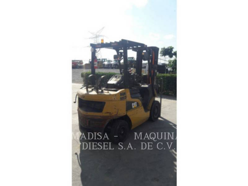 MITSUBISHI CATERPILLAR FORKLIFT FORKLIFTS 2P5000GLP equipment  photo 4