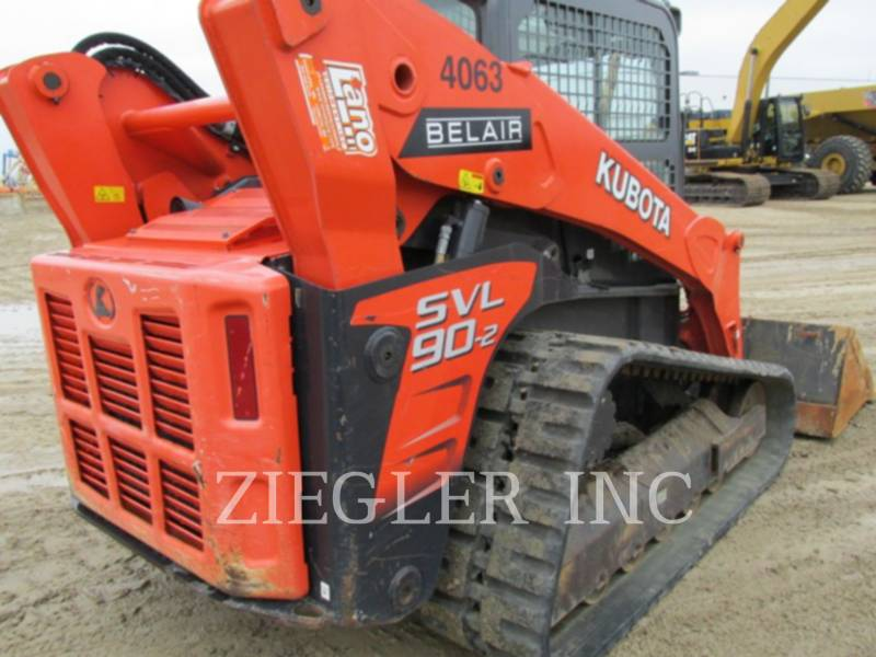KUBOTA TRACTOR CORPORATION MULTI TERRAIN LOADERS SVL90-2 equipment  photo 3