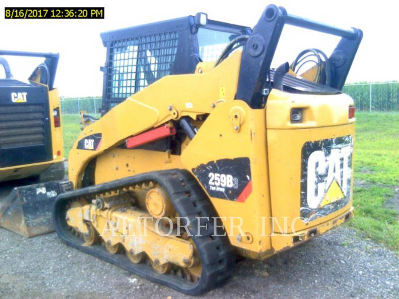 CATERPILLAR SKID STEER LOADERS 259B3 equipment  photo 2