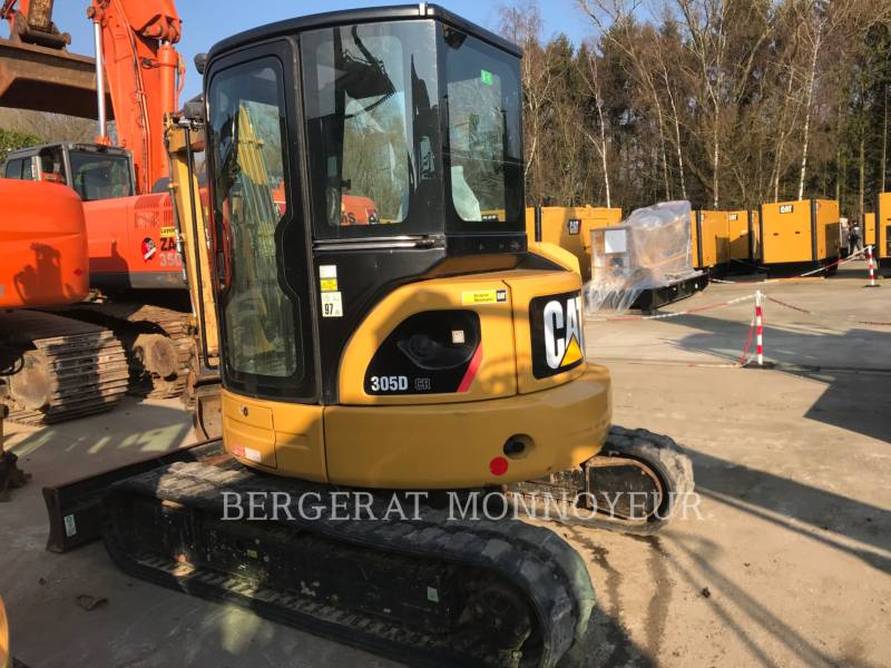 CATERPILLAR TRACK EXCAVATORS 305 D CR equipment  photo 6