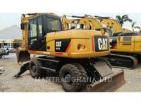 CATERPILLAR PELLES SUR PNEUS M317 D2 equipment  photo 1