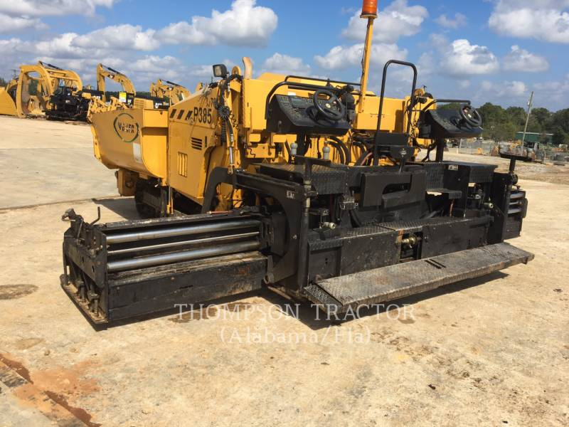 WEILER PAVIMENTADORA DE ASFALTO P 385 A equipment  photo 12
