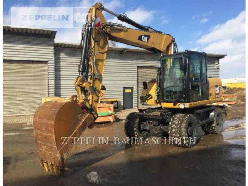 CATERPILLAR KOPARKI KOŁOWE M313D equipment  photo 1