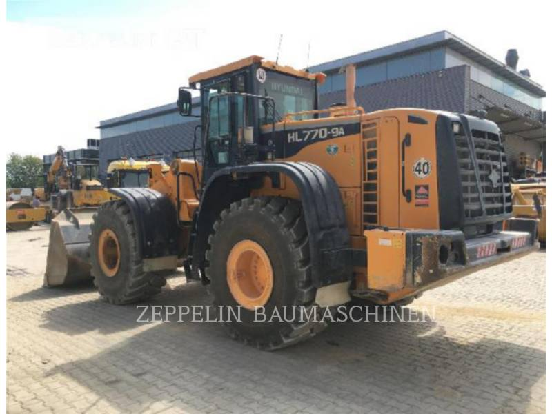 HYUNDAI WHEEL LOADERS/INTEGRATED TOOLCARRIERS HL770-9 equipment  photo 3