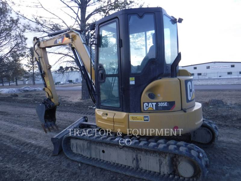 CATERPILLAR PELLES SUR CHAINES 305E2 CRCB equipment  photo 1