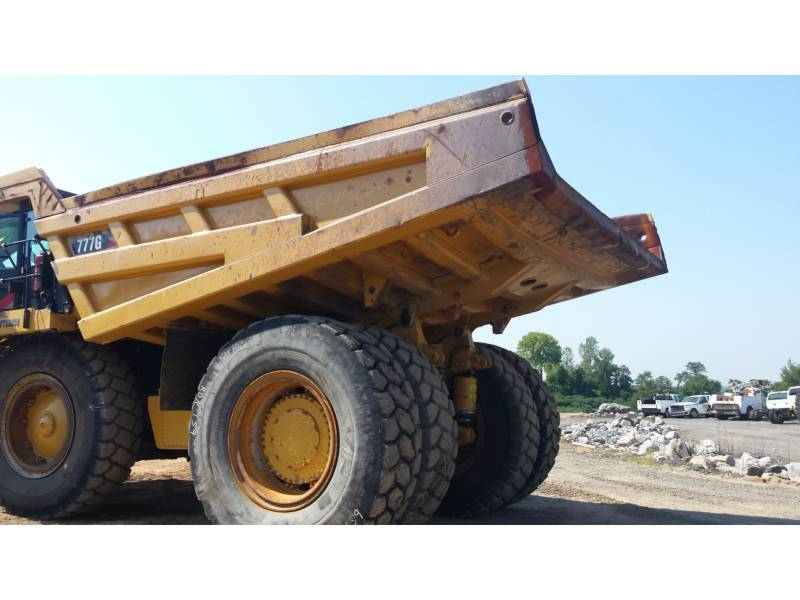 CATERPILLAR MINING OFF HIGHWAY TRUCK 777G equipment  photo 2