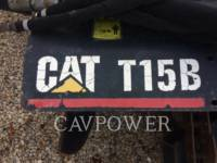 Equipment photo CATERPILLAR T15B WT - トレンチャ 1