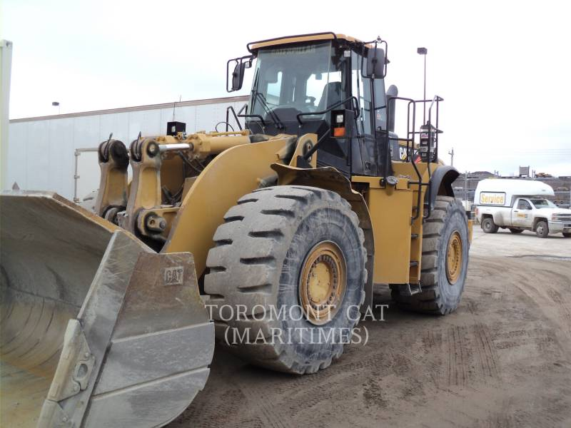 CATERPILLAR WHEEL LOADERS/INTEGRATED TOOLCARRIERS 980 H equipment  photo 2