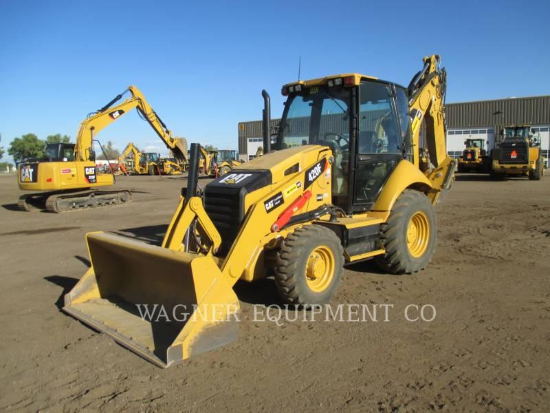 CATERPILLAR BACKHOE LOADERS 420F 4WDE equipment  photo 1