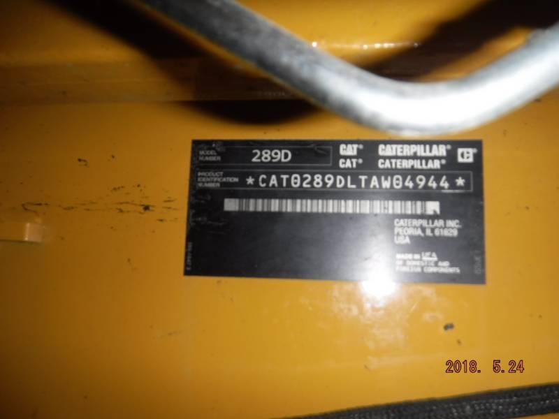 CATERPILLAR MULTI TERRAIN LOADERS 289D equipment  photo 17