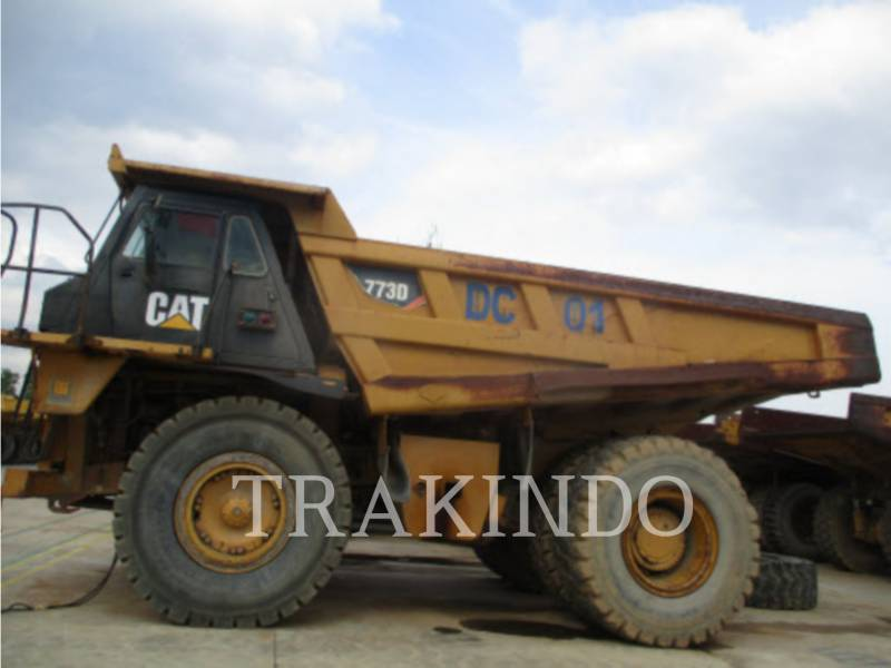 CATERPILLAR DUMPER A TELAIO RIGIDO 773DLRC equipment  photo 1