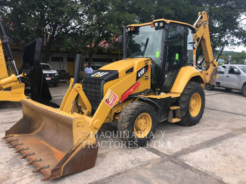 CATERPILLAR RETROESCAVADEIRAS 416F2STLRC equipment  photo 1