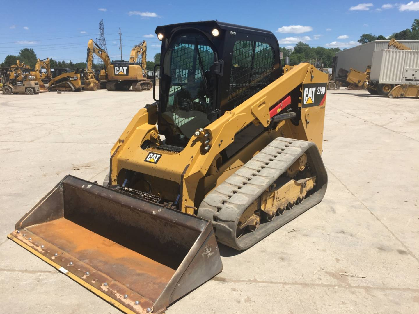 Used 2015 Caterpillar 279d For Sale Whayne Cat