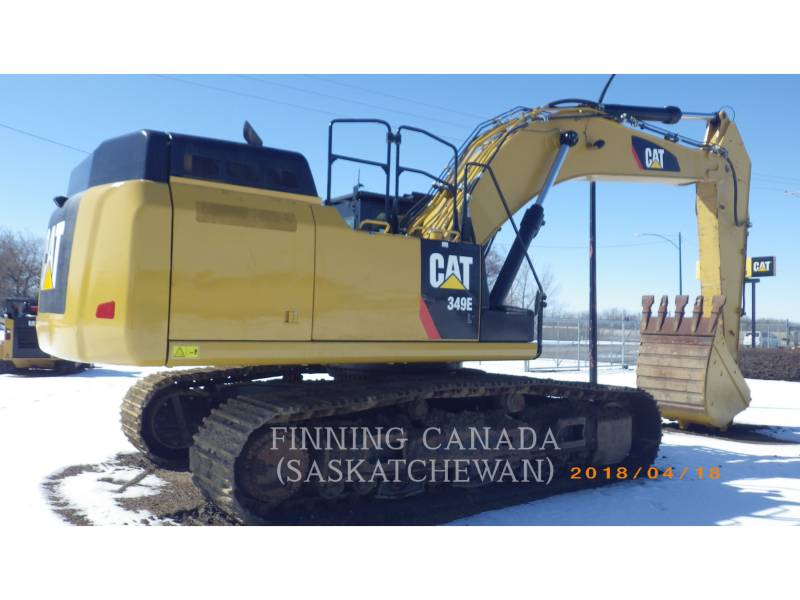 CATERPILLAR TRACK EXCAVATORS 349E equipment  photo 5