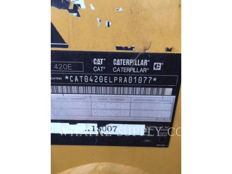 CATERPILLAR BAGGERLADER 420EST equipment  photo 5