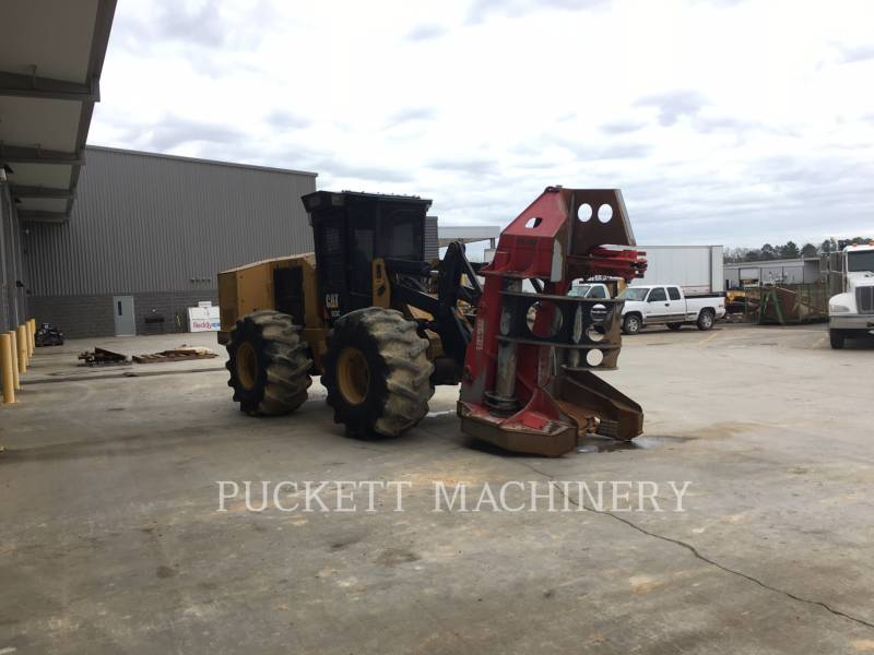 CATERPILLAR FORESTRY - FELLER BUNCHERS - WHEEL 553C equipment  photo 4